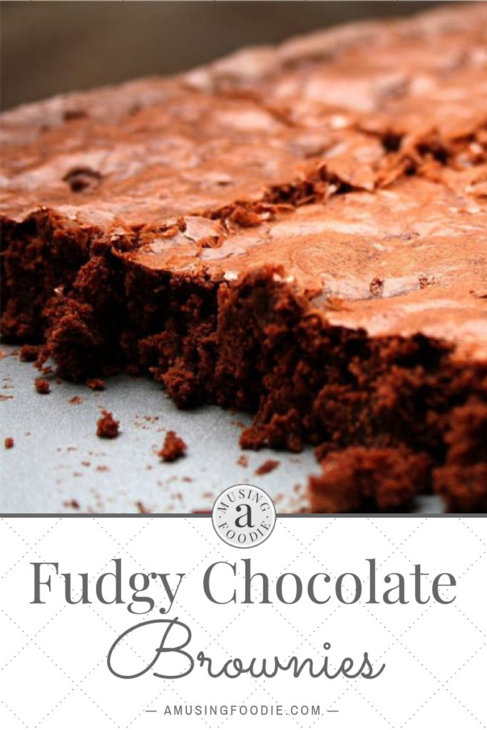 Light, airy, but super moist and chocolaty, these rich fudgy chocolate brownies are awesome.