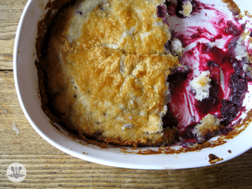 This simple peach blackberry cobbler will melt in your mouth—better make a double batch!