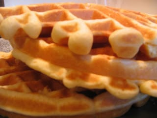 Homemade Quick Waffles
