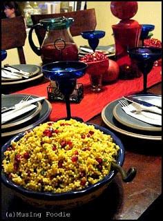 Acini di Pepe Pomegranate Salad