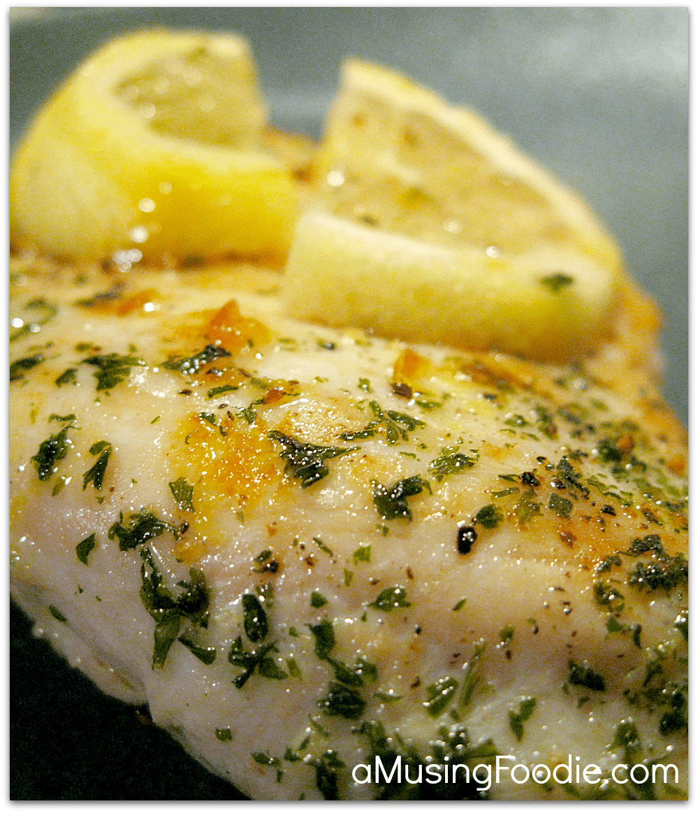 Lemon Garlic Chicken | (a)Musing Foodie