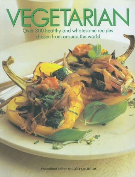 "The cook book ""Vegetarian"" by Nicola Graimes"