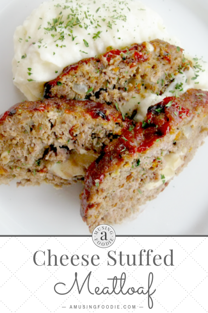 This cheese stuffed meatloaf is a total comfort food. You'll be coming back for seconds!