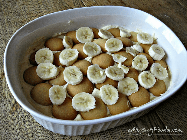 This banana pudding recipe is very easy, perfect for a large crowd and is even better when made ahead!