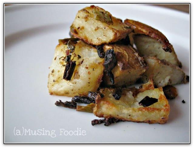 Crispy Roast Dijon Potatoes
