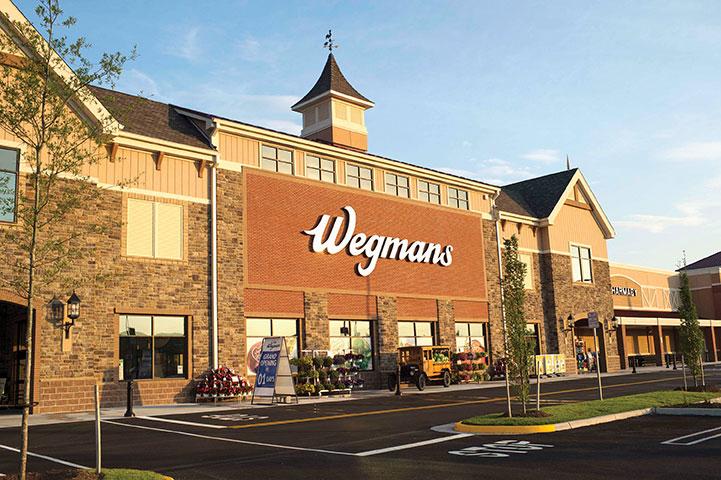 Wegmans storefront in Alexandria, VA.
