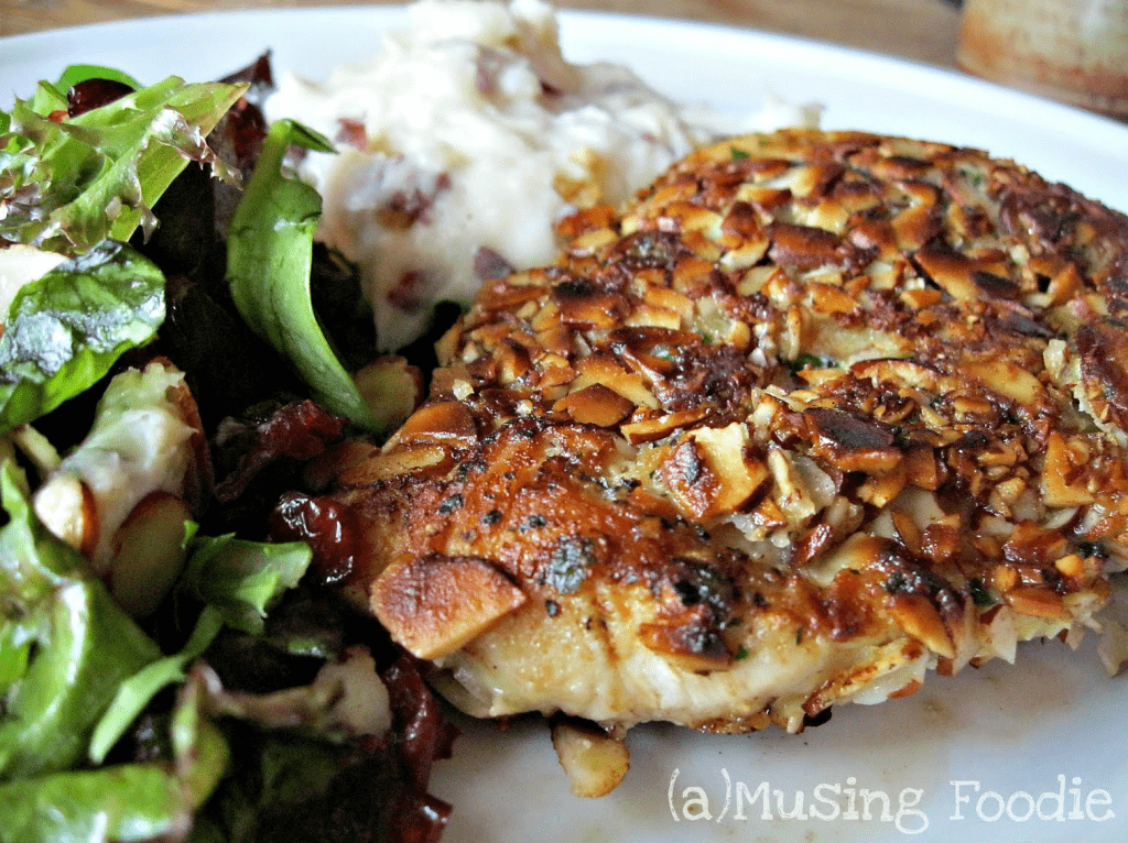 Seared Almond Chicken