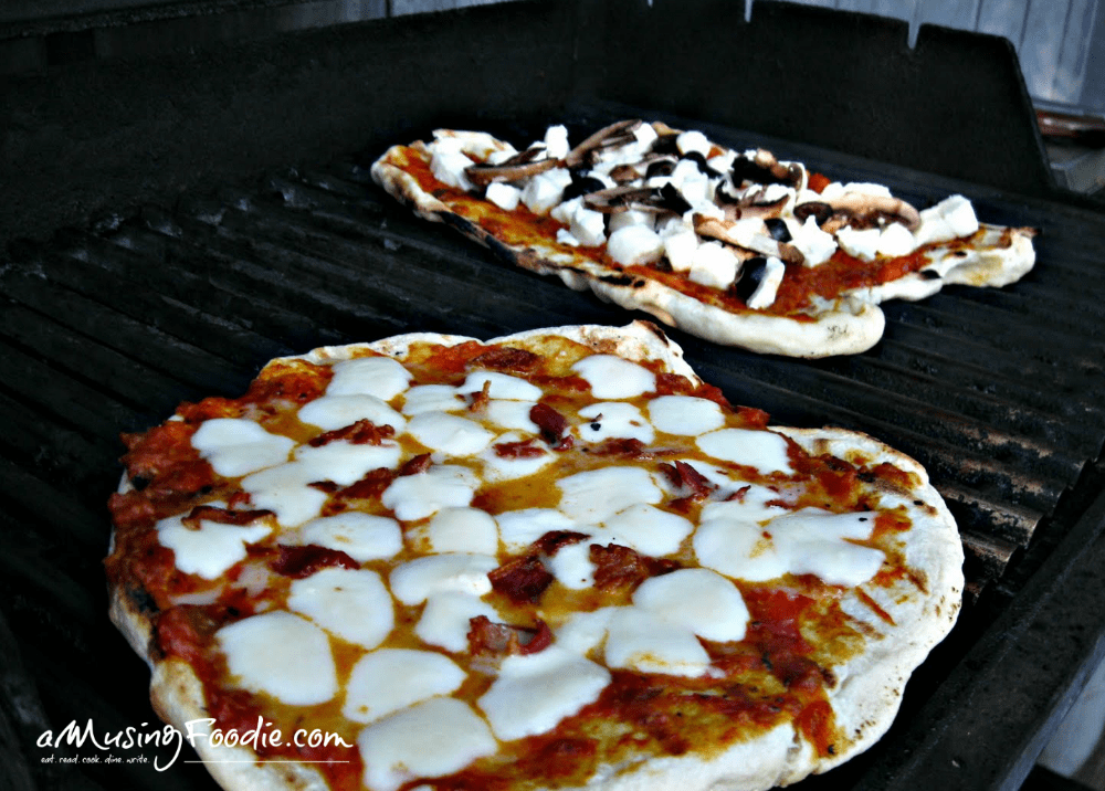 New York Style Grilled Pizza
