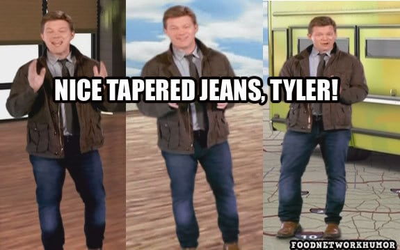 Tyler Florence Tapered Jeans