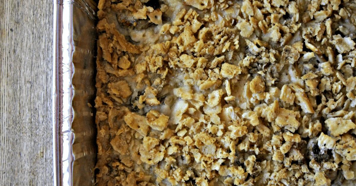 Simple Oyster Casserole