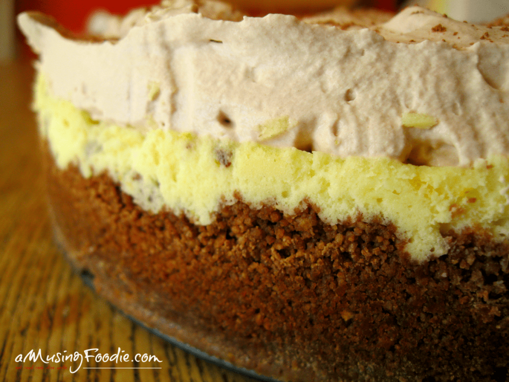 This chocolate orange cheesecake is creamy, fragrant and super easy to make!
