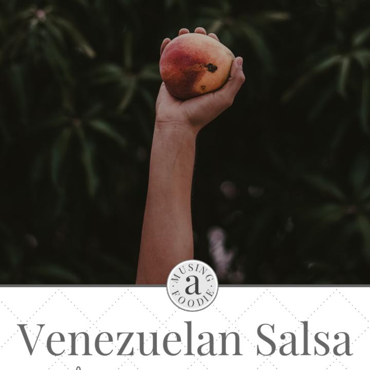 Venezuelan salsa made with mango, papaya, carrot, celery, lemon and garlic is a taste-tempting tropical sensation!
