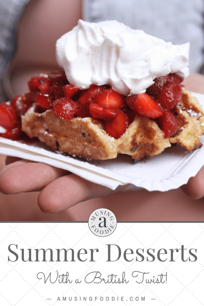 These summer desserts with a British twist will impress your guests and you`ll be keeping your cool on even the hottest day!