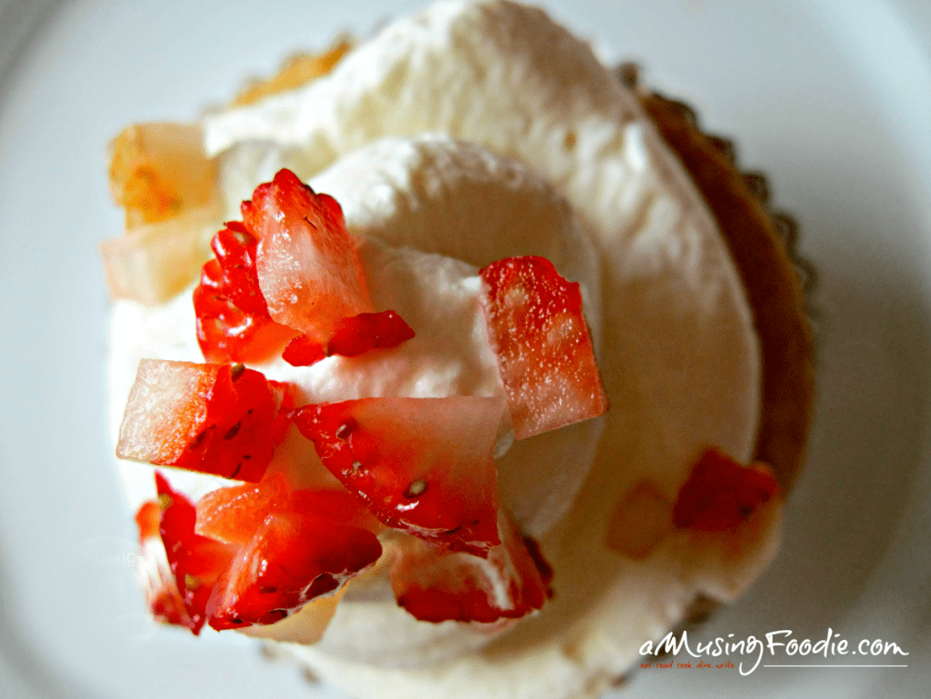 Strawberry Shortcake Cupcakes with Vanilla Whipped Cream Frosting