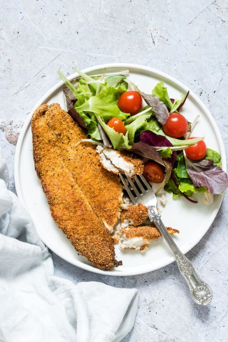 Golden Crispy Air Fryer Catfish