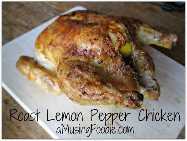 Roast Lemon Pepper Chicken