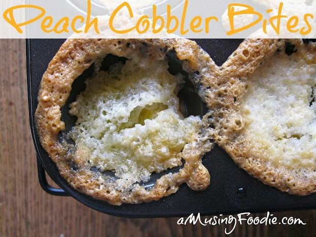 These cobbler bites are a mini version of my traditional cobbler recipe—YUM!