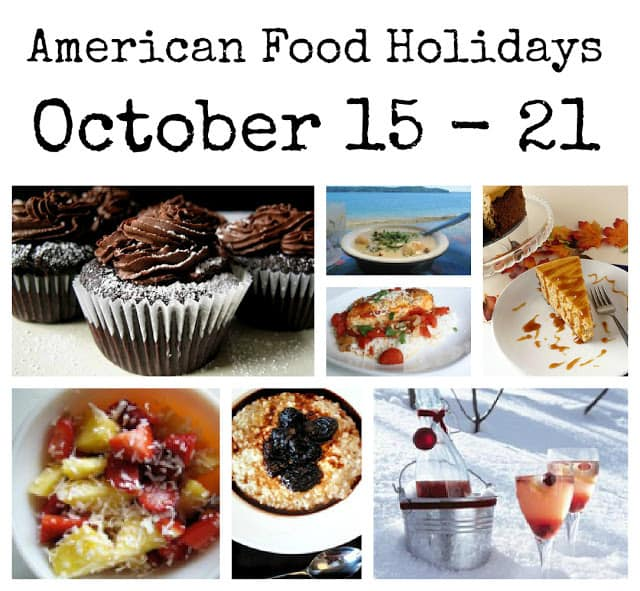 food holidays, american food holidays