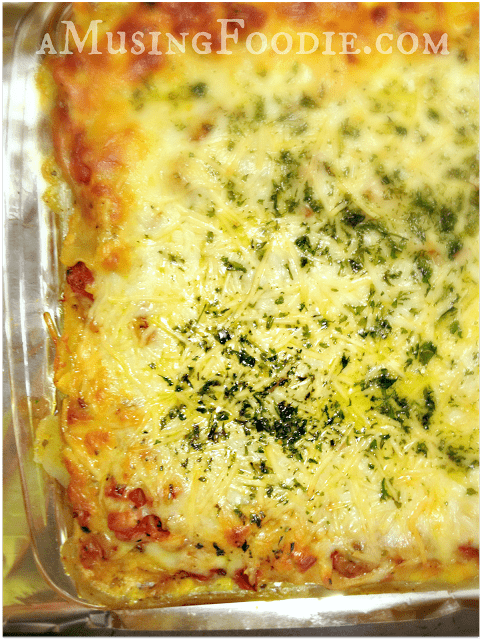 ... of spinach, mushroom and Italian sausage lasagna turned out amazing