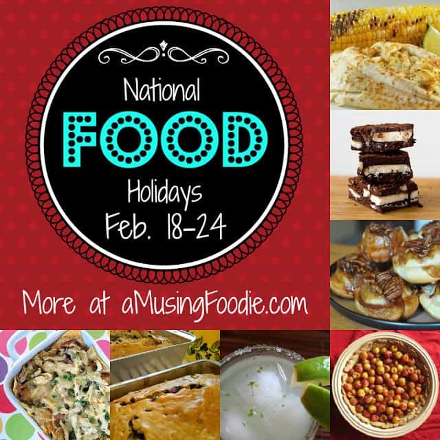 american food holidays, february food holidays, national food holidays, food holidays