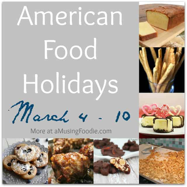 american food holidays, food holidays, national food holidays, march food holidays, downton abbey