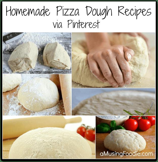 How to make homemade pizza dough via recipes on Pinterest