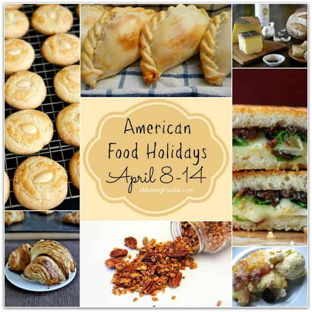 food holidays, national food holidays, american food holidays, april food holidays