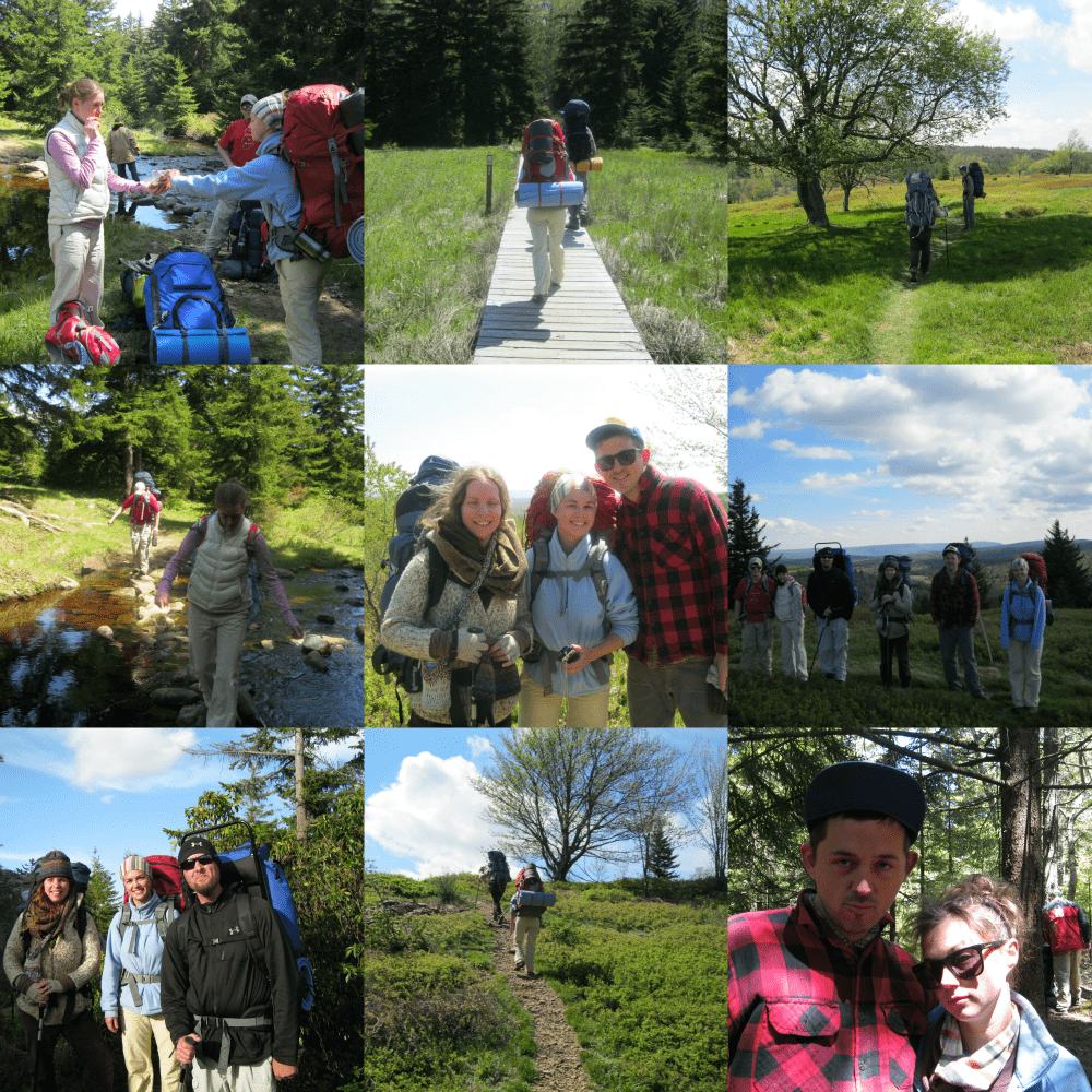 Backpacking the Dolly Sods Wilderness in the Monongahela National Forest.