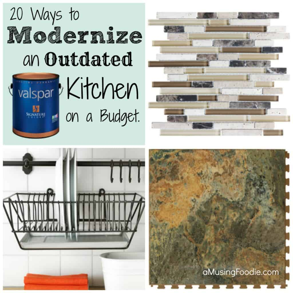 How to modernize a kitchen on a budget