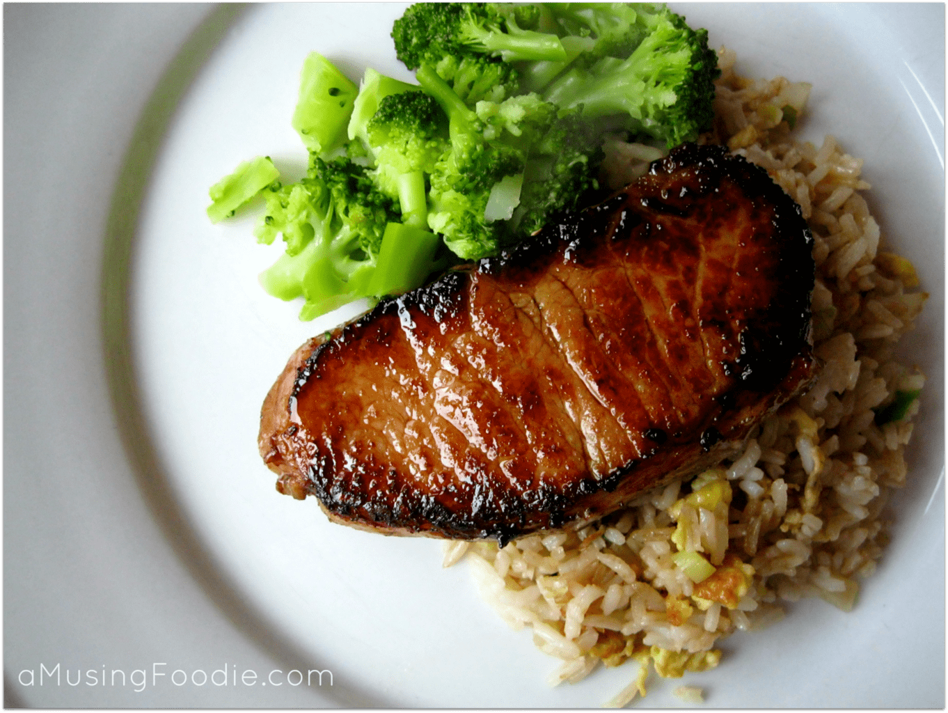 Teriyaki Pork Chops