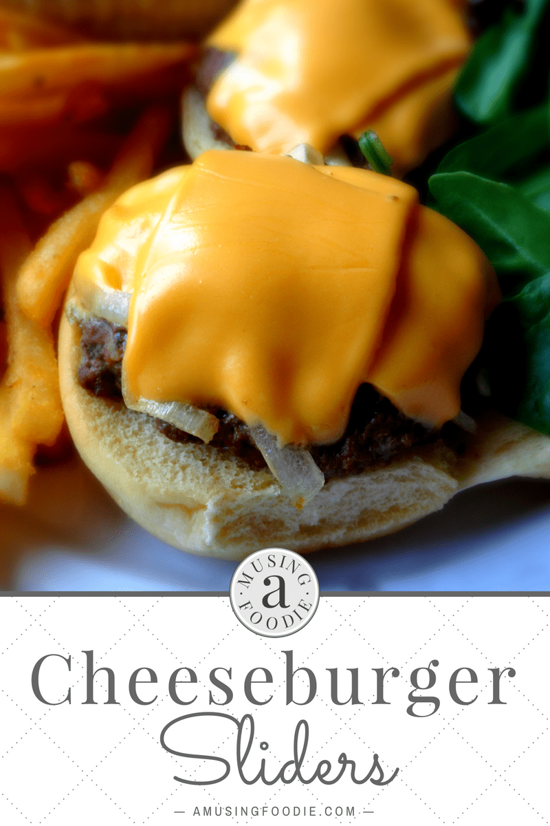 These cheeseburger sliders are the perfect quick-fix dinner for a busy weeknight!