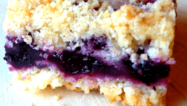 These blueberry crumble bars are like a dessert masquerading as a breakfast. How bad can that be?