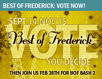 frederick md, best of frederick, best blog in frederick