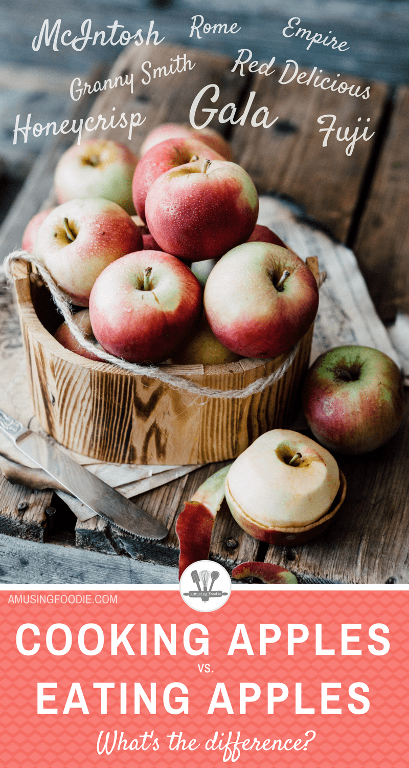 Worry no more, apple fans! This post answers the common question: What's the difference between cooking apples and eating apples?