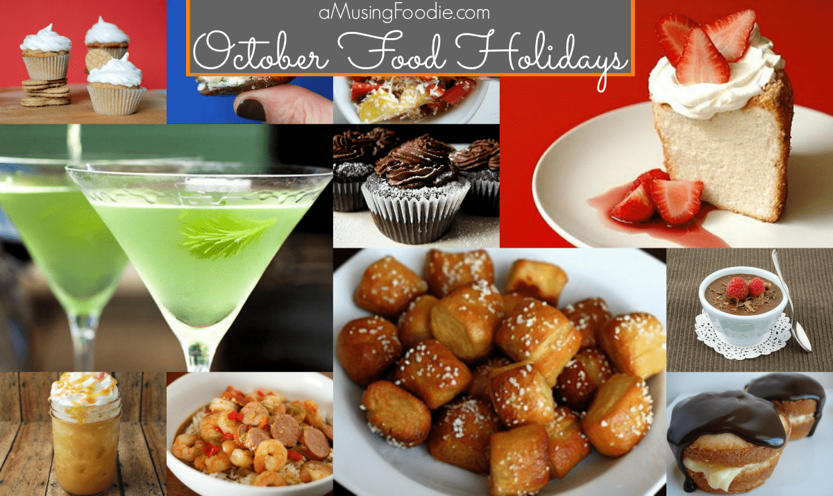 october food holidays, national food holidays, american food holidays, food holidays