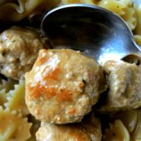 Swedish Meatballs with Ground Turkey