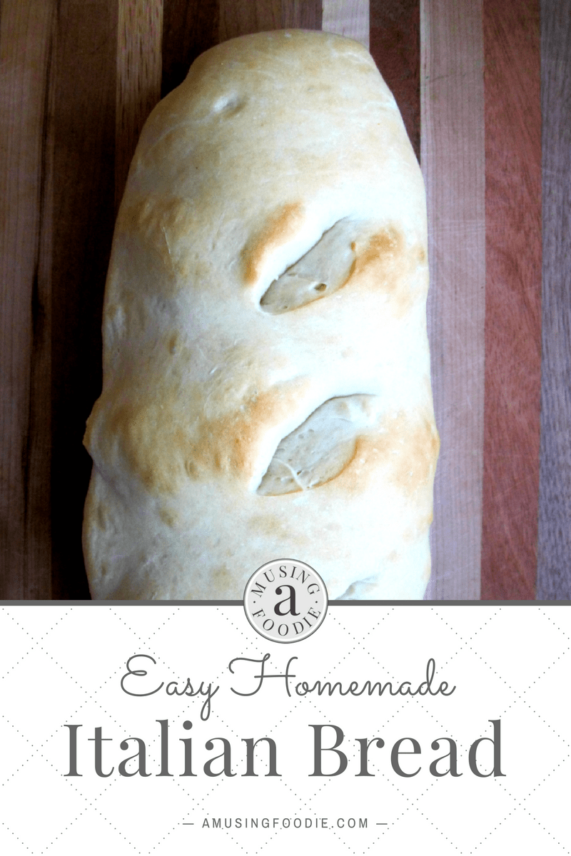 A homemade Italian bread recipe that doesn't take hours to prep and bake? Yes, it does exist!