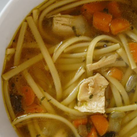 Is there anything more comforting than a warm, savory bowl of homemade chicken noodle soup?