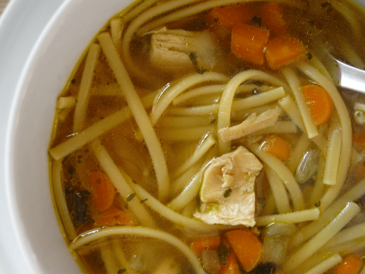 Homemade Chicken Noodle Soup A Musing Foodie