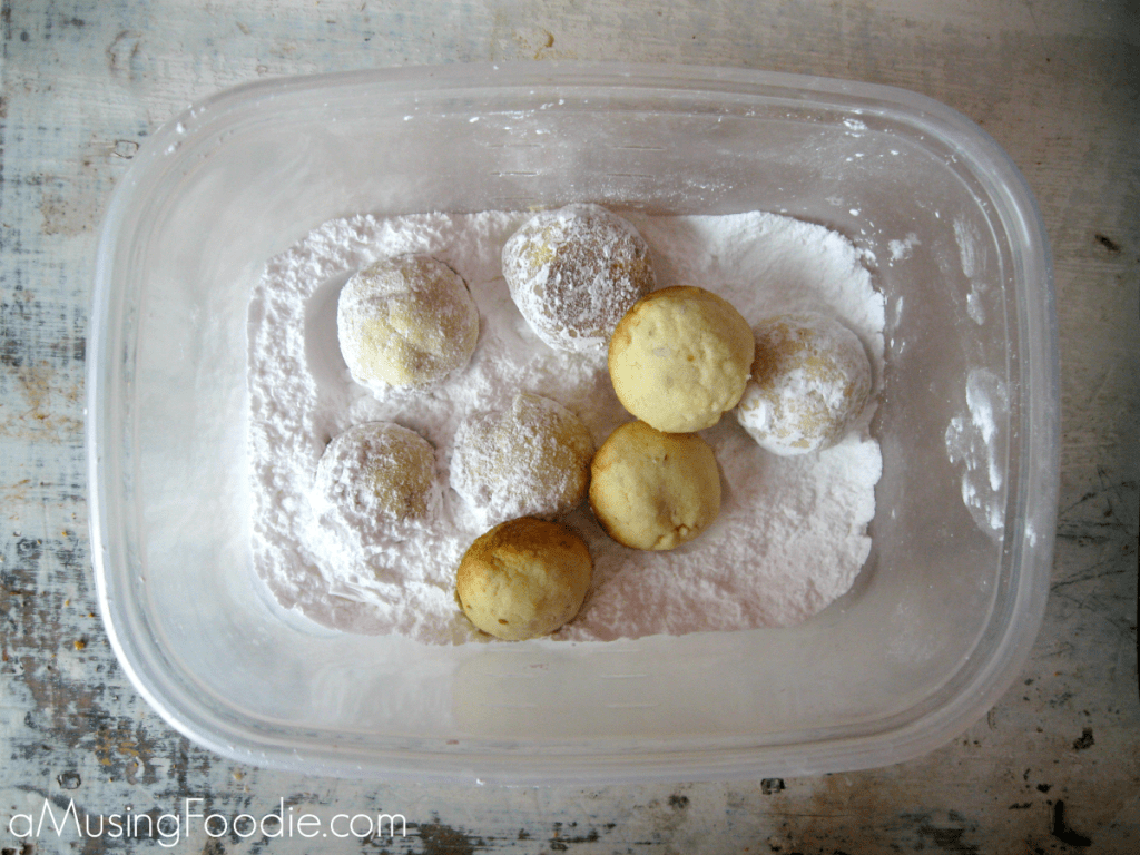 Almond lime snowball cookies are the perfect, festive holiday recipe to add to your cookie list!