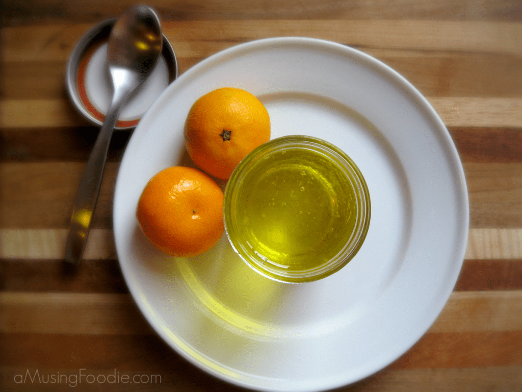 Homemade Orange Syrup with Clementines
