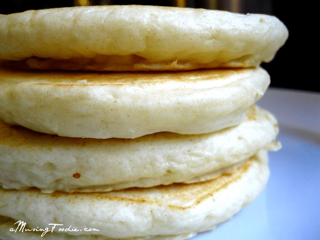 Fluffy Homemade Pancakes | (a)Musing Foodie