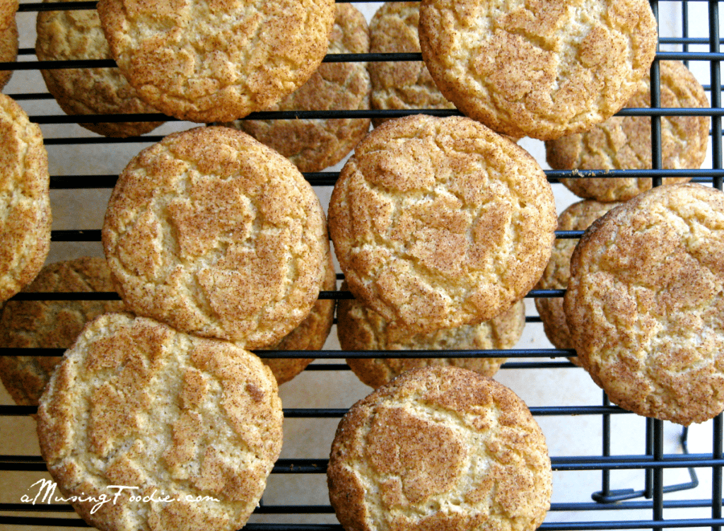 These Snickerdoodles are simple to make, soft and chewy and filled with sweet cinnamon flavor.
