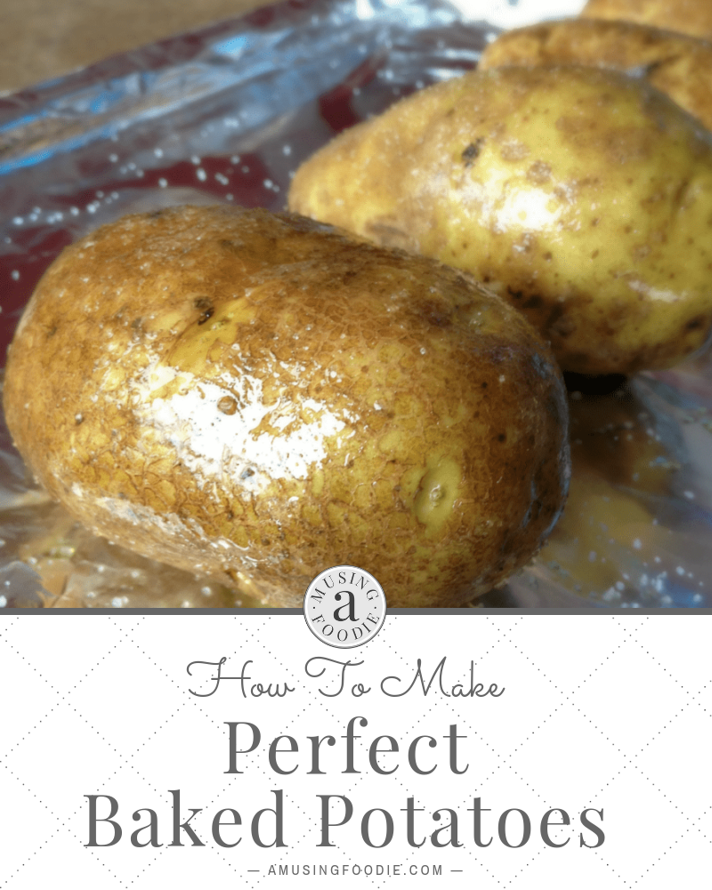 Cooking perfect baked potatoes as simple as a slathering of olive oil, a generous sprinkle of sea salt, and a hot oven.