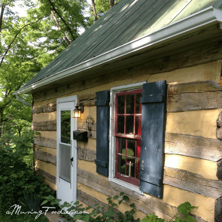 Log Cabin at the Farm