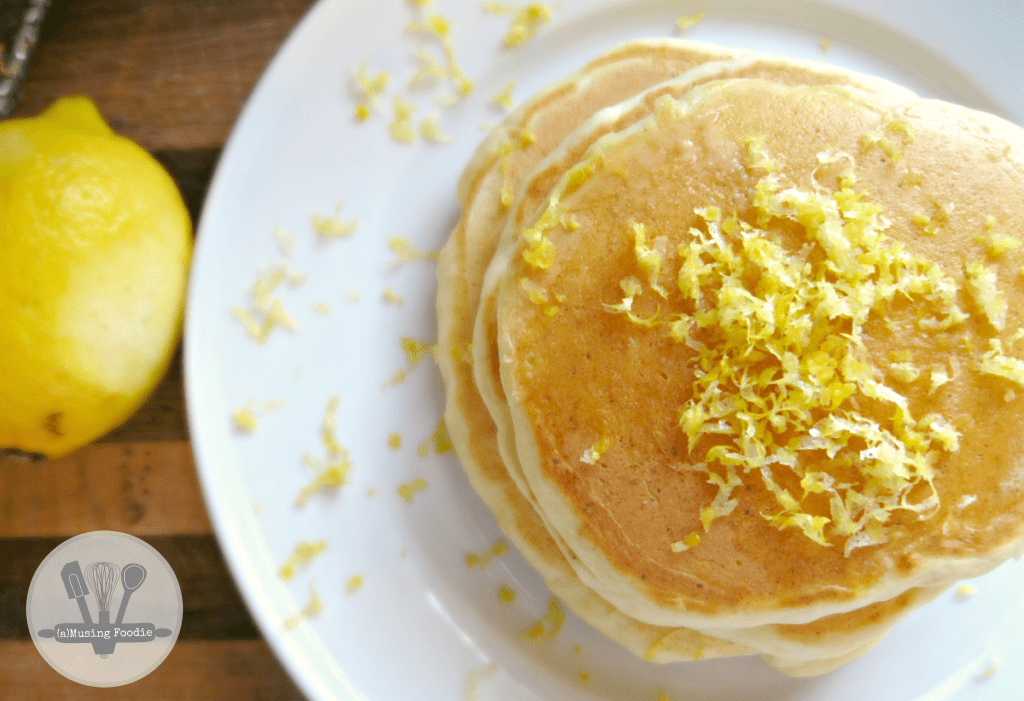 Lemon ricotta pancakes are a delightfully tart and citrus-y version of a breakfast classic.