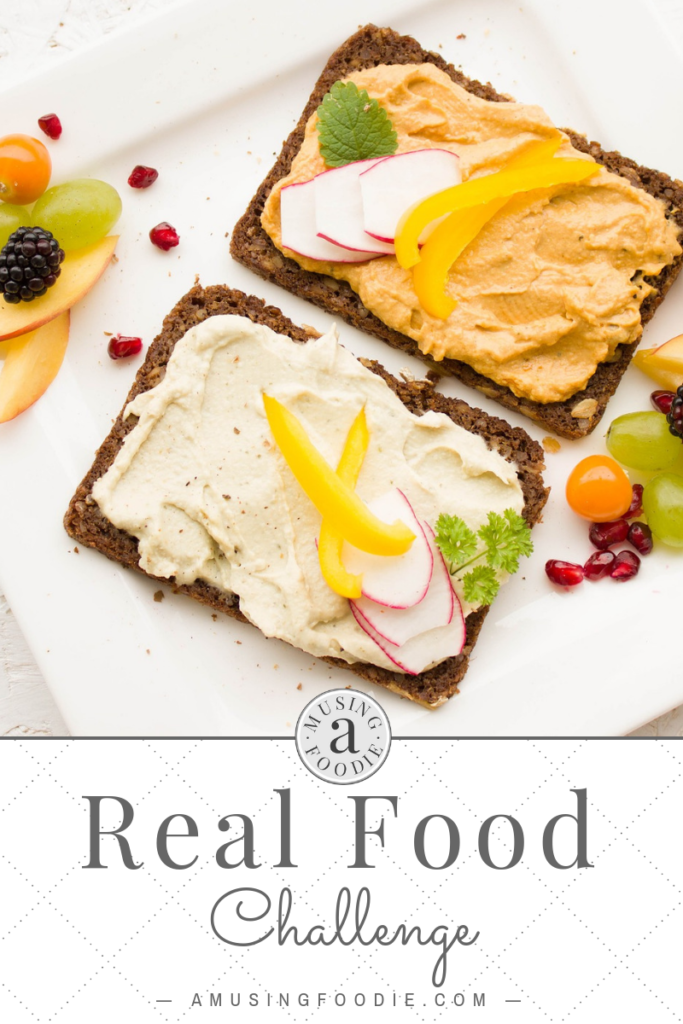 Consider a real food challenge tohelp keep you and your family focused on eating the foods that are the very best for yourbodies.