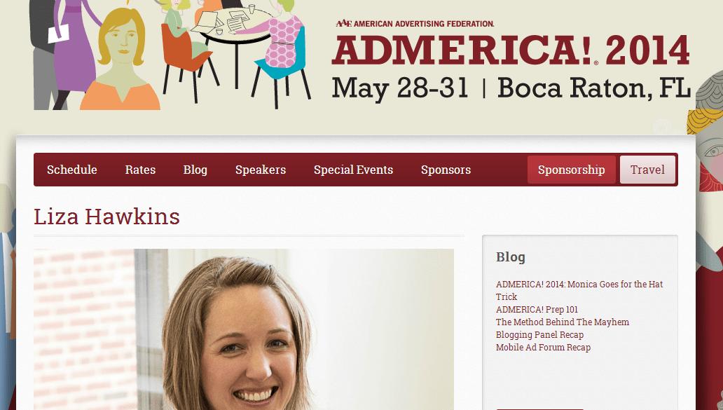 ADMERICA! Blogger