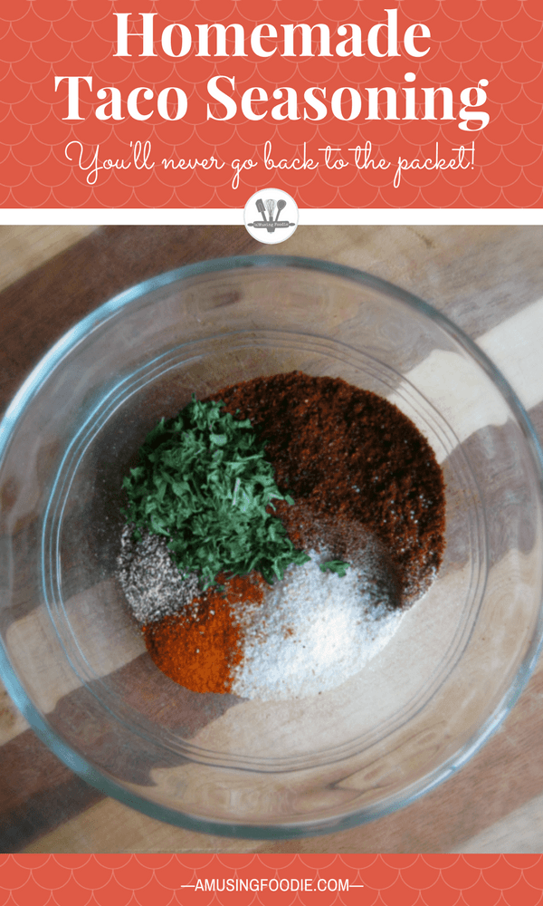 Tacos are one of my go-to easy dinner ideas during the work week, and having a simple homemade taco seasoning recipe is key!