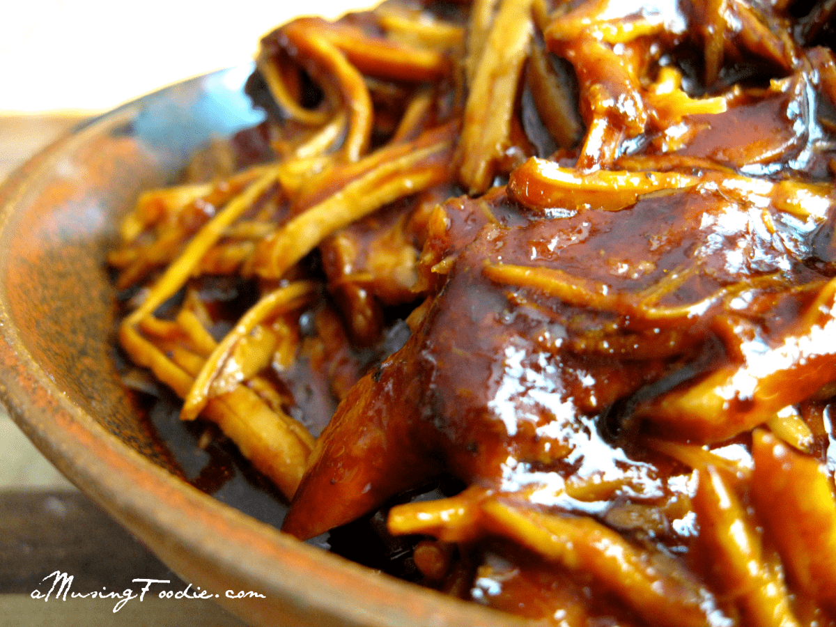 "Easy Slow Cooker Pork BBQ : for those days when you need a ""set it ..."